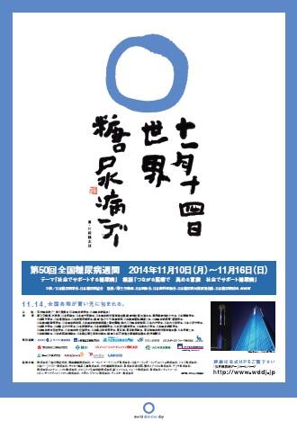 世界糖尿病デー2014年│公式ポスター