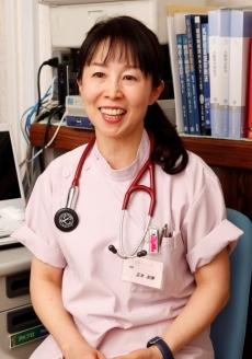 ↑臨床内科専門医で正木クリニックの正木初美院長
