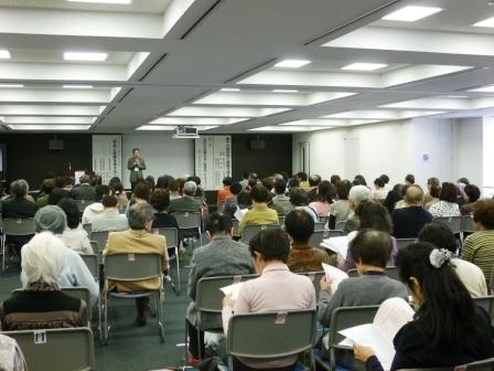 ↑多くの方が参加されました。健康管理への注目度の高さがうかがえます。