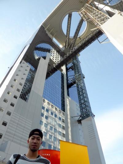 近畿大学建築科の学生が選ぶ、 大阪のお気に入り建築物スポット5つ。梅田スカイビル